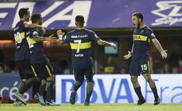 Boca Juniors venció a Colón de Santa Fe por 2 a 0