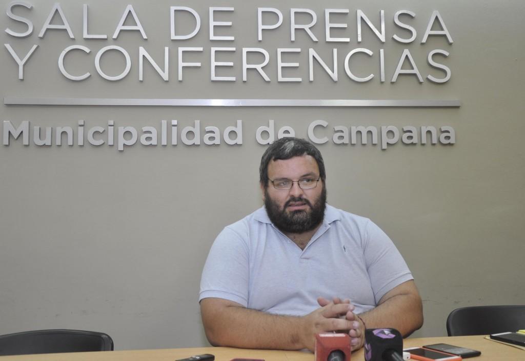 Martin Seguin : se trabajó para solucionar los inconvenientes en el centro de Campana