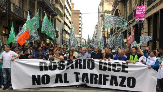 En Rosario dijeron basta de tarifazos