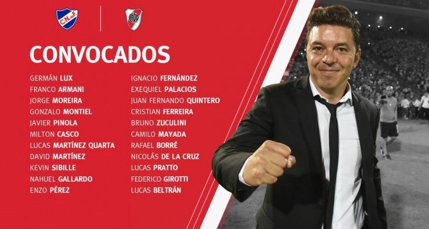 River Plate enfrentará a Nacional de Uruguay