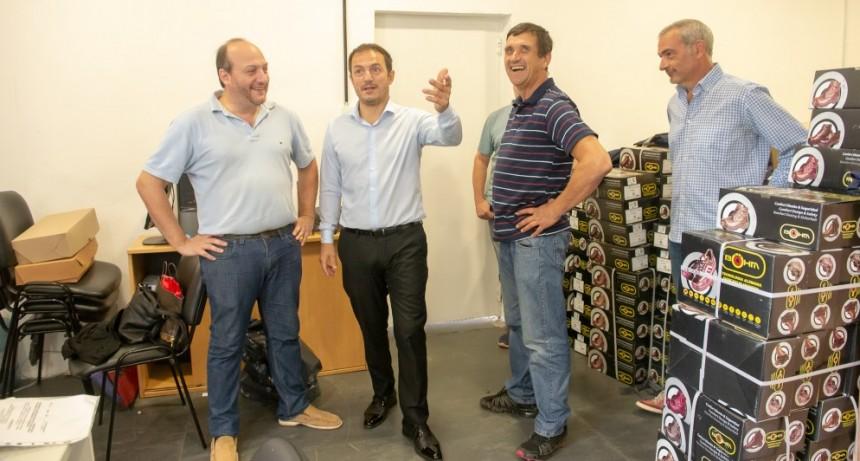 Abella planificó trabajos con el equipo de la Secretaría de Descentralización