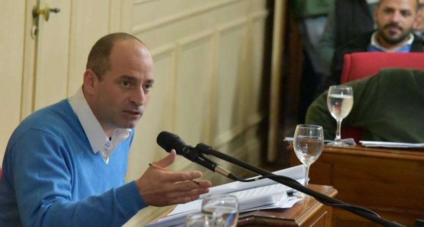 Marco Colella se refirió a la actualidad política en el Honorable Concejo Deliberante