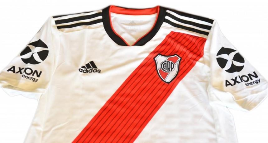 AXION energy es el nuevo sponsor oficial de River Plate y hoy se estrena en su camiseta
