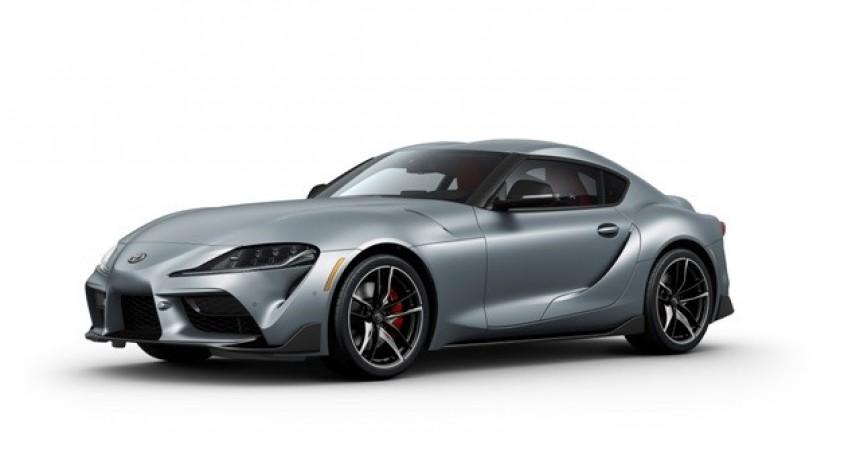 Toyota presentó el nuevo Supra en el Salón del Automóvil de Detroit