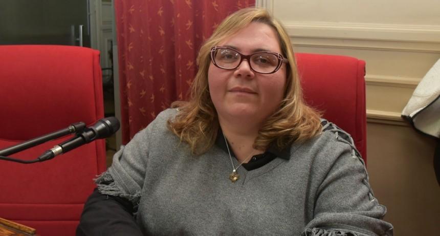 Romina Buzzini se refirió a diferentes temas