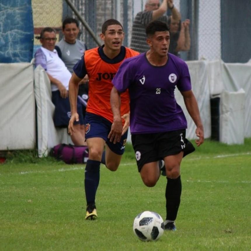 Villa Dálmine venció en un amistoso a Colegiales por 1 a 0