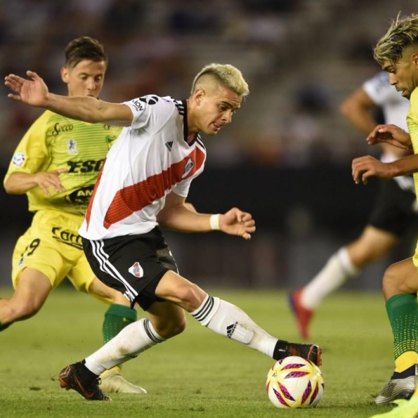 River Plate regresó a la actividad oficial con una derrota ante Defensa y Justicia