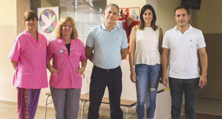El intendente Abella se inscribió en la Carrera Solidaria