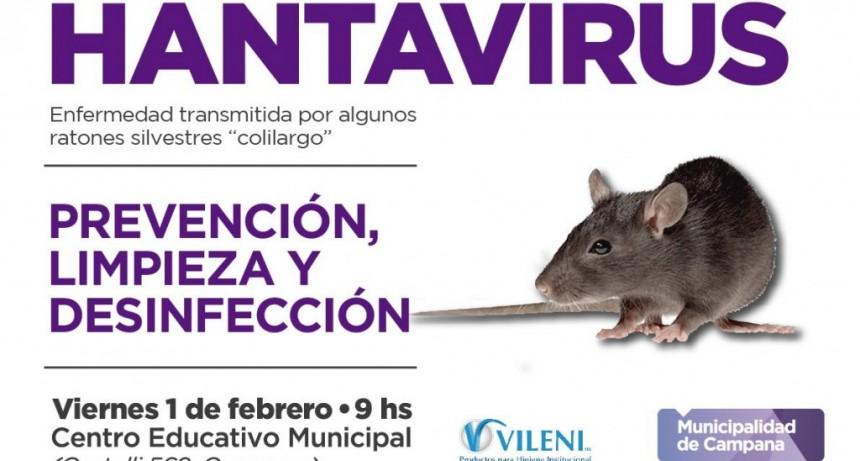 El Municipio realizará una charla informativa sobre Hantavirus