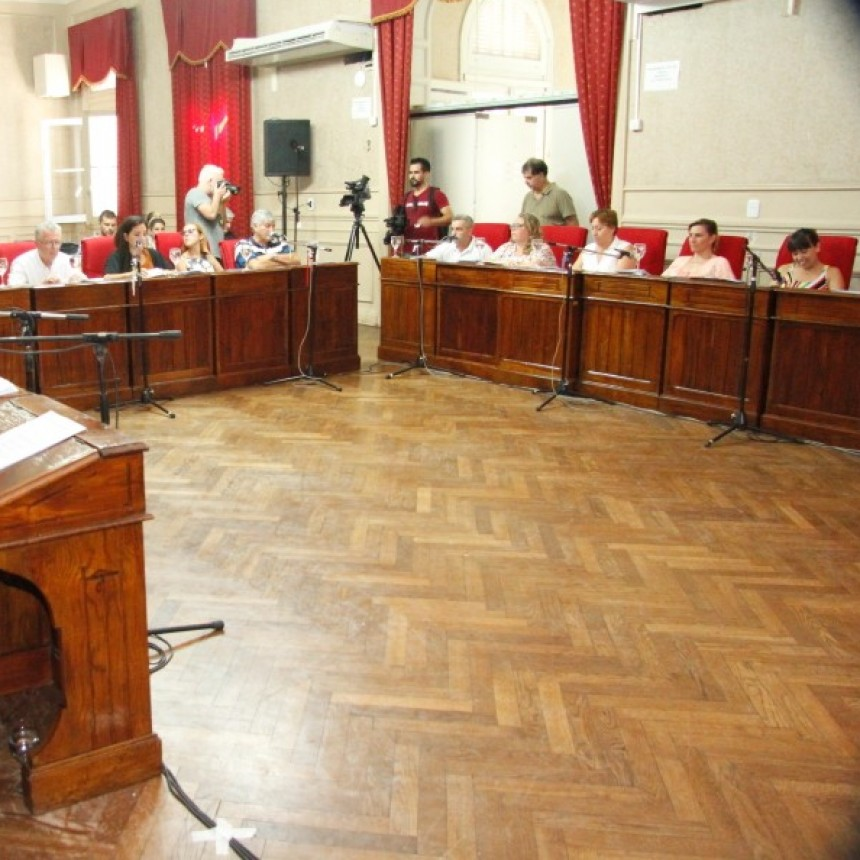 El Concejo Deliberante aprobó una decena de proyectos  en sesión extraordinaria