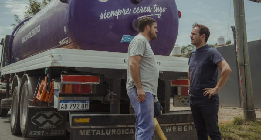 El camión atmosférico del Municipio continúa ofreciendo sus servicios gratuitos