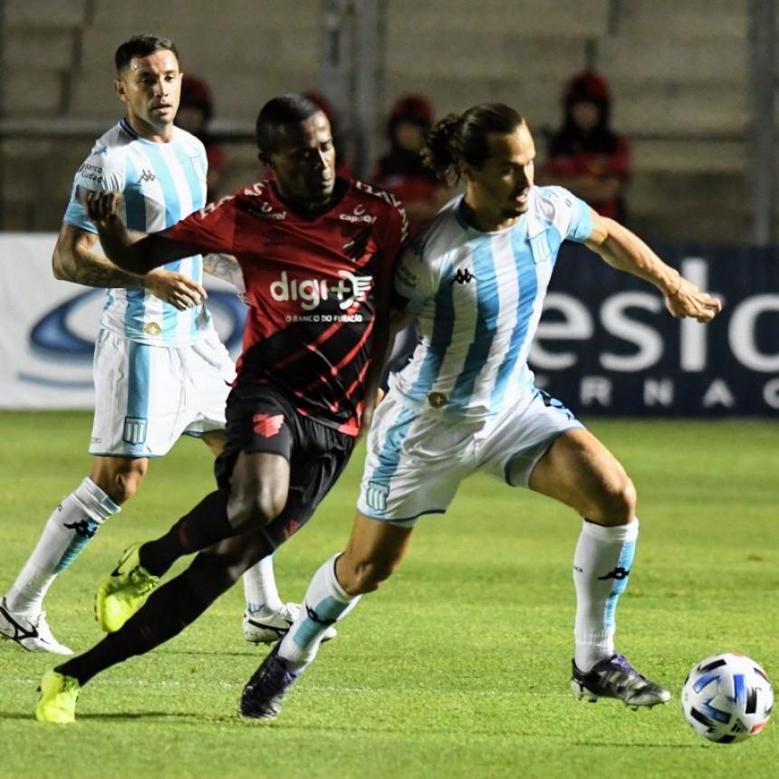 Racing Club venció a Athlético Paranaense en el debut de Sebastián Beccacece