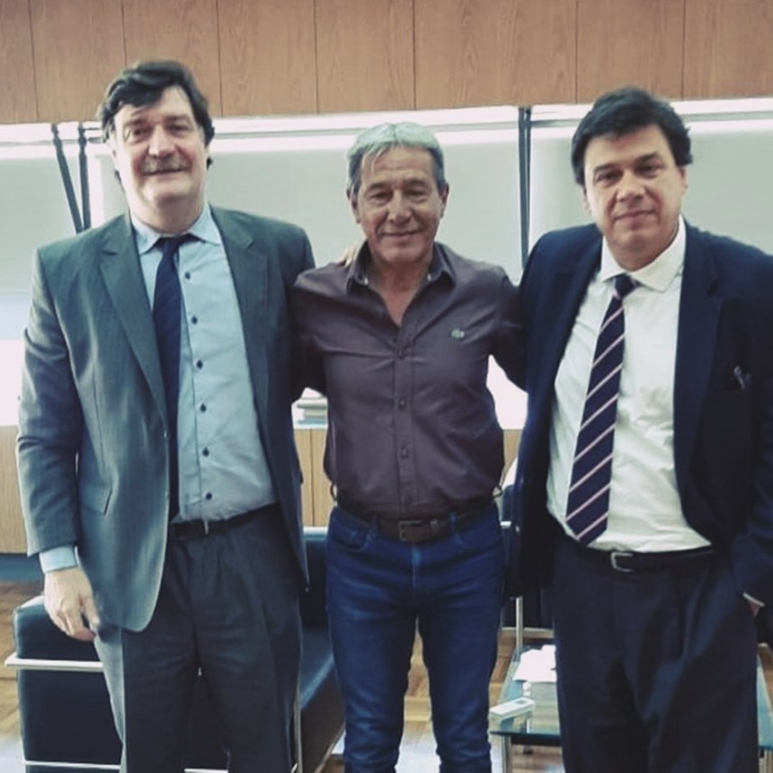 Salarios y capacitación: Milla y Moroni trazaron la agenda de los petroleros