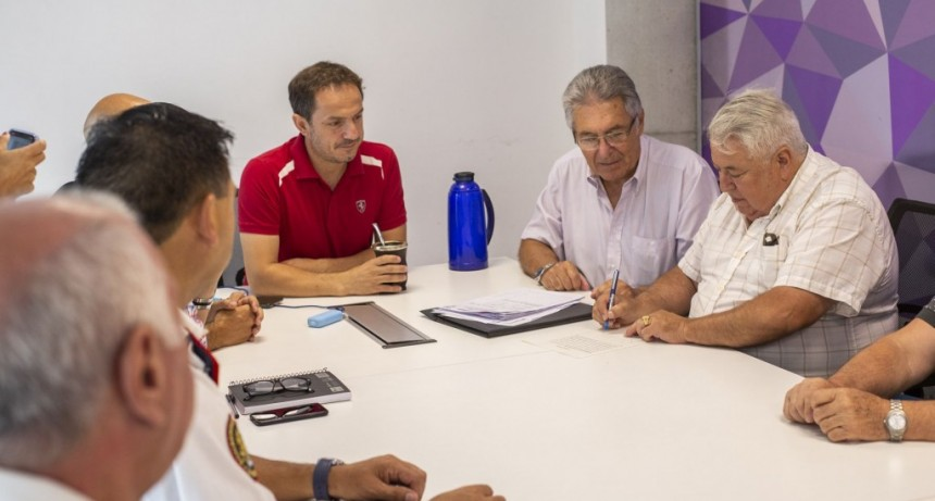 Los Bomberos Voluntarios están a un paso de cumplir un sueño por el que esperaron 20 años