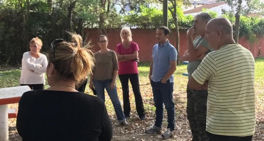 Los concejales de Juntos por el Cambio escucharon a los vecinos de La Argentina