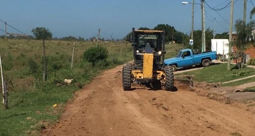 Continúan los trabajos de mantenimiento integral en barrios de la ciudad