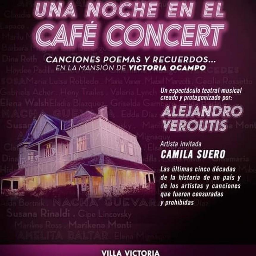 """Alejandro Veroutis y su espectáculo """"Una noche en el café concert"""" ternado para los Estrella de Mar"""