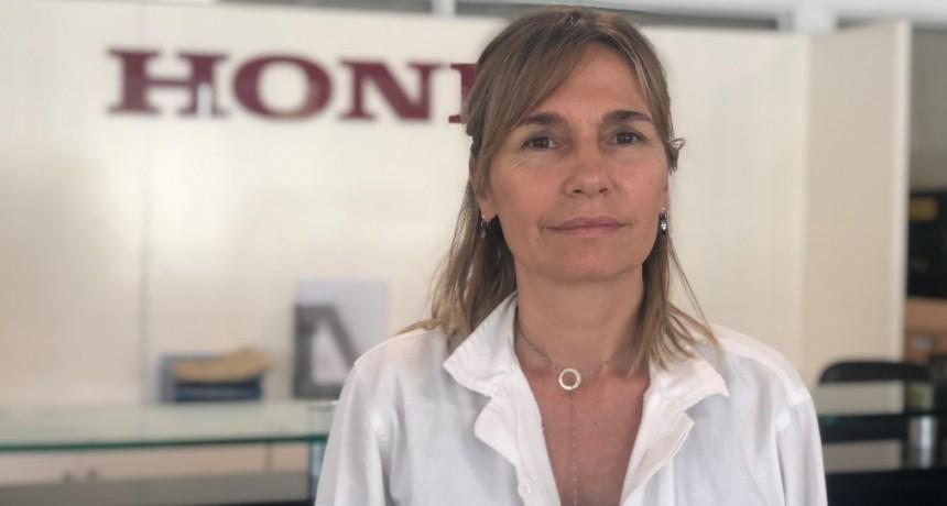 VIVIANA DALEOSO, NUEVA GERENTE DE RELACIONES INSTITUCIONALES DE HONDA MOTOR DE ARGENTINA
