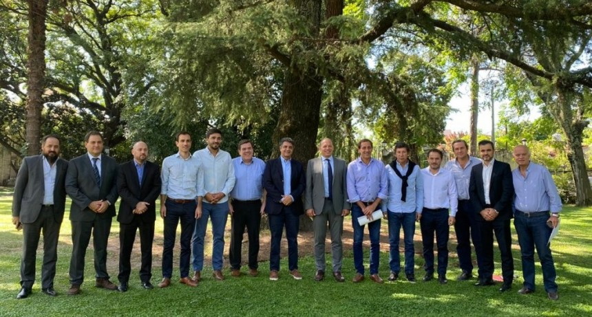 Abella e intendentes de Juntos por el Cambio se reunieron con el ministro de Seguridad Sergio Berni