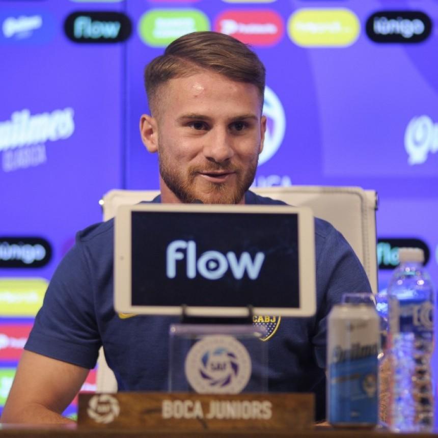 Mac Allister se despidió de Boca Juniors para jugar en la Premier League