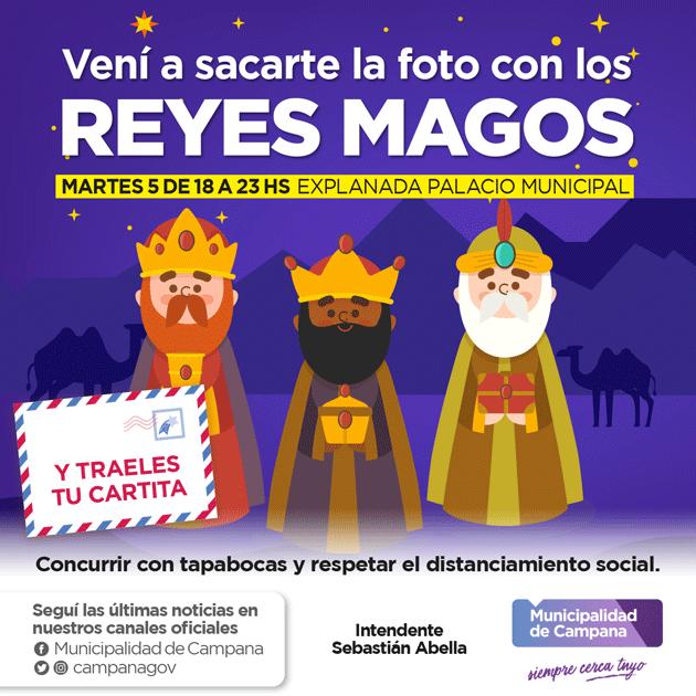 Los reyes magos visitarán hoy la explanada del Palacio Municipal
