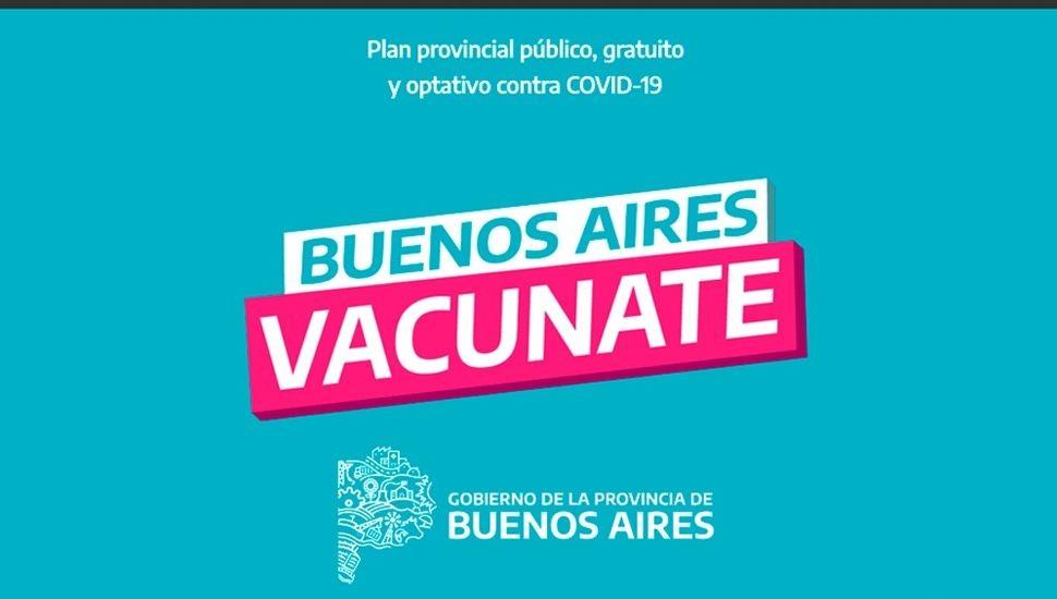 BUENOS AIRES VACUNATE :  La aplicación vacunatePBA ya está disponible para todos los teléfonos celulares