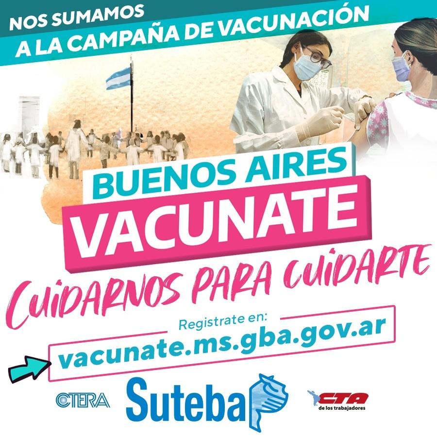 COMENZARAN A VACUNARSE LOS DOCENTES EN CAMPANA