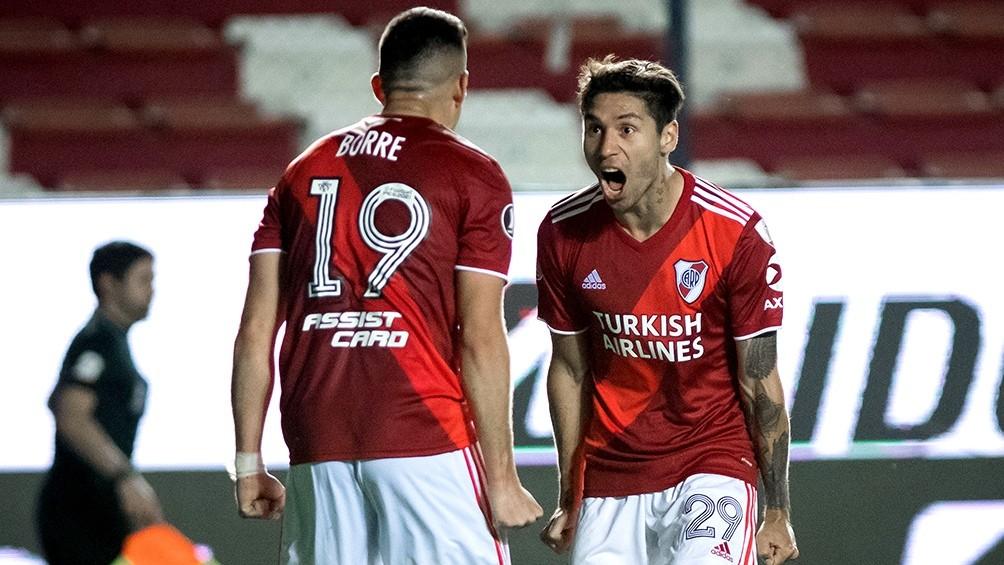 River Plate mantiene a Montiel e insiste por Palavecino