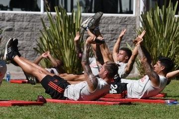 River Plate en otra semana de trabajo en Ezeiza