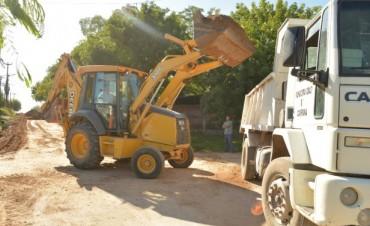 Se desarrollaron obras del Plan de Mantenimiento en Barrios en San Felipe
