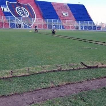 San Lorenzo instaló un moderno sistema de riego en el Pedro Bidegain