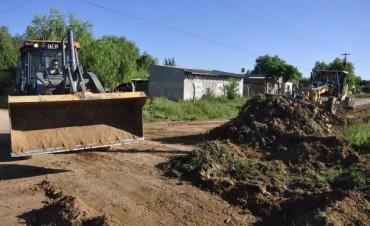 Obras Públicas intensifica los trabajos de mantenimiento en Barrios y Casco Céntrico