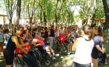Los Colonos disfrutaron y compartieron nuevas actividades integradoras
