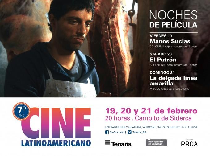 La Primera Jornada del Cine Latinoamericano se programa esta noche en el Auditorio Roberto Rocca