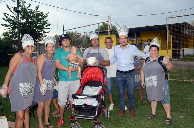 Abella participó del cierre de la Colonia del Club Puerto Nuevo