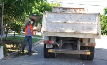 El Municipio continúa con el operativo de descacharrización en los barrios