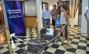 Una réplica del Primer Automóvil Argentino viajará a España