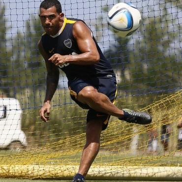 Boca Juniors llegò a San Juan para enfrentar a San Martìn