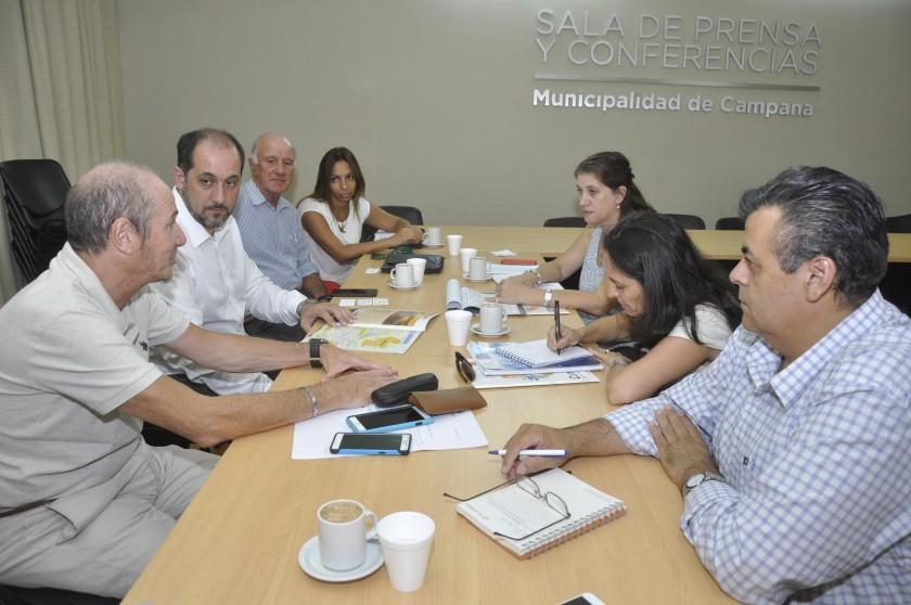 Se presentó en Campana el programa para la transformación productiva