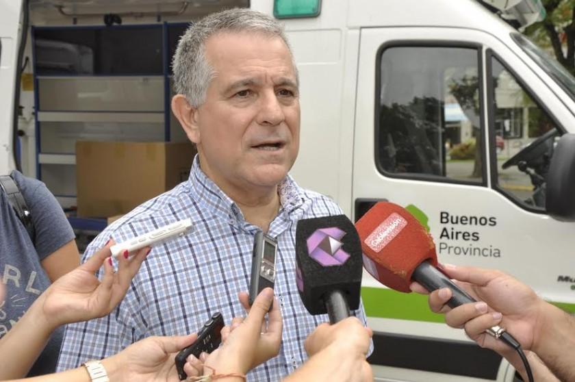 Meiraldi: Con esta ambulancia mejoramos el servicio y reducimos los costos
