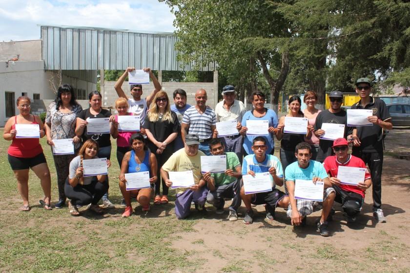 La Secretaría de Desarrollo Social reconoció a cooperativistas del programa Argentina Trabaja