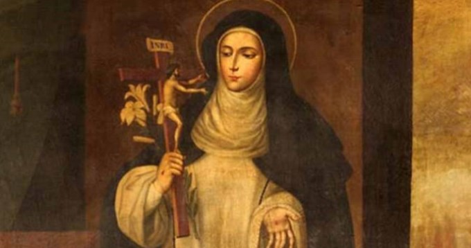 La iglesia recuerda hoy a Santa Catalina de Ricci