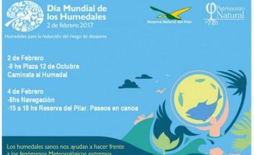 La Asociación Patrimonio Natural invita a las actividades que se realizarán con motivo del Día Mundial de los Humedales