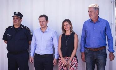 El Intendente inauguró el nuevo centro de monitoreo de Ruta 4