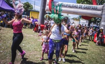 A puro carnaval, la Colonia Municipal Integradora se despidió hasta el próximo año