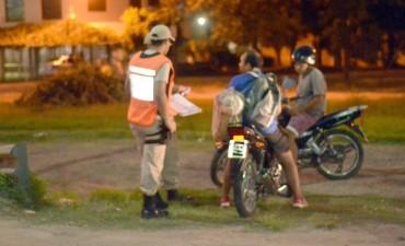 Seguridad: se realizaron nuevos operativos de control en el centro y barrio Villanueva
