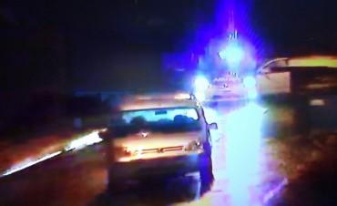 Conductor ebrio fue divisado por las cámaras de CIMoPU y detenido por la Policía Local