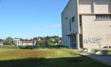 El Municipio realizó tareas de limpieza y mantenimiento en la Escuela N° 13