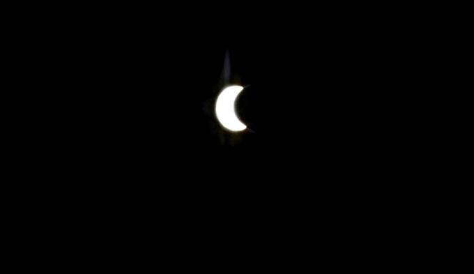 El eclipse de sol anular enloqueció a los argentinos