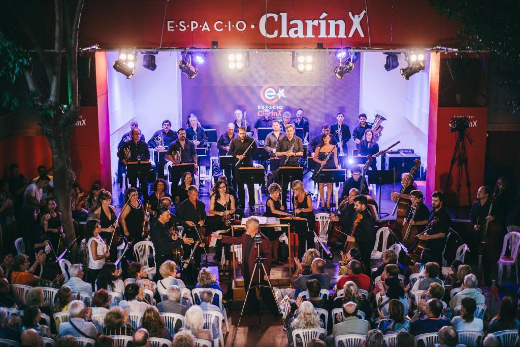 """La Orquesta Sinfónica Municipal brilló en """"El Lugar de los Artistas"""""""